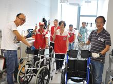 "Purchase of 50 wheelchairs for ""Mobility Equipment Loan Service"""