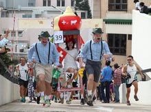 Team Swiss Association is fundraising for Sedan Chair Charities Fund