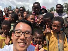 "Kelvin is fundraising for UNHCR : ""2 BILLION KILOMETRES TO SAFETY"" for refugee shelters"