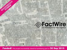 FactWire - an investigative news agency founded by the Hong Kong public