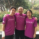 Eric, Ezrela and Ezmond Cheung