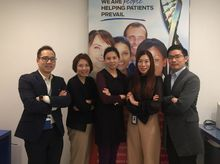 Alice, Alan, Eric, Maris and Virginia are fundraising for The Hong Kong Anti-Cancer Society