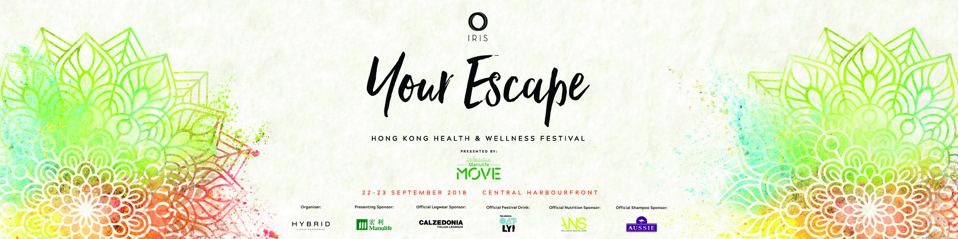 IRIS: Your Escape with ManulifeMOVE Hong Kong's Largest Health & Wellness Festival