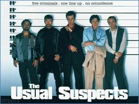Description: http://gregorymancuso.com/wp-content/uploads/2011/05/Usual-Suspects.jpg